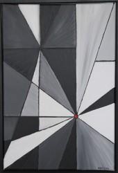 Birgitte Nora Frandsen.  1948 -    .  Maleri  ( Samspil )