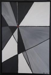 Birgitte Nora Frandsen.  1948 -    . Maleri ( Midtpunkt )