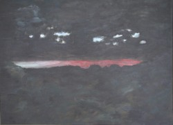 Birgitte Nora Frandsen.  1948 -    .  Maleri  ( Sønderho)