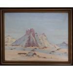 Otto Rosing . 1896 - 1965. Maleri (Grønland, Sermiligâk)